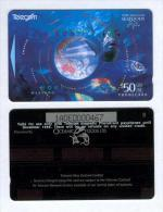 New Zealand - 1994 Oceanic Foods $50 Fish - NZ-A-75b - With Overprinted Back - Mint - Nuova Zelanda