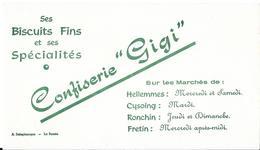 """Confiserie """"Gigi"""" Ses Biscuits Fins ....Sur Les Marchés De Hellemmes - Cysoing - Ronchin - Fretin - Cake & Candy"""