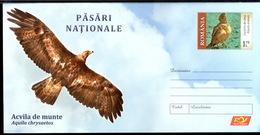 Romania / Postal Stationery / National Birds - Aquila Chtysaetos - Aquile & Rapaci Diurni
