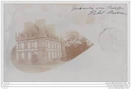 56) Guémené Sur Scorff.- (Morbihan) Carte Photo Le 3 Août  1907 -   L' Hotel Moderne - Guemene Sur Scorff