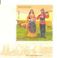 2018. Moldova, Ethnicity Of Moldova, Gypsies, 1v,  Mint/** - Moldova