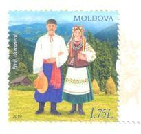 2019. Moldova, Ethnicities Of Moldova, Ukrainians, 1v, Mint/** - Moldova