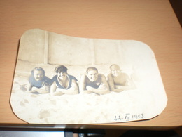 Sombor Zombor Kupaliste Swimsuit Old  Photo 1923 Porodica Tapavica - Serbia