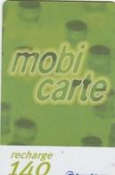 MOBICARTE.. RECHARGE 140 - France