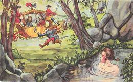 Illustration Contes & Légendes: Le Chat Botté, Série II - Carrosse Royal - Carte N° 21159 Non Circulée - Fairy Tales, Popular Stories & Legends