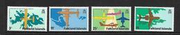 FALKLAND 1979 AEROPORT DE STANLEY YVERT N°283/86 NEUF MNH** - Falkland