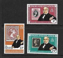 FALKLAND 1979 R.HILL  YVERT N°287/89 NEUF MNH** - Falkland