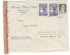 17425 - Avec Censure OKW  Pour L'Allemagne - Lettres & Documents