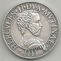 Modena, Hercules II Dux Mutinae, Comunitatis Mutinae Moneta, Mistura Gr. 10, Cm. 2,8. - Italia
