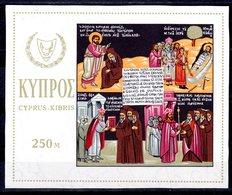 Zypern 1966 Block 4 ** Kirchen Postfrisch (pü3175) - Chipre (República)