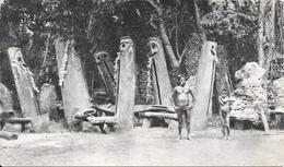 Superbe Carte Des Années 1954 (timbrée)  - Dans Le Sillage De BOUGAINVILLE - Nouvelles Hébrides (Les Tabous) - Vanuatu