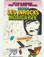 MOBICARTE...RECHARGE 70...LES INROCKS - France
