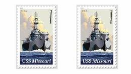 US Stamps 2019 (Advance Order) - Battleship Missouri.1 Stamp - Etats-Unis