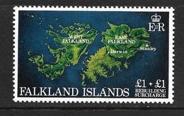 FALKLAND 1982 SURTAXE POUR LA RECONSTRUCTION  YVERT N°367 NEUF MNH** - Falkland