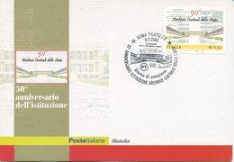 ITALIA - FDC MAXIMUM CARD 2003 - ARCHIVIO DI STATO - ANNULLO SPECIALE - Maximumkarten (MC)