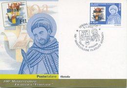 ITALIA - FDC MAXIMUM CARD 2003 - VERONAFIL - ANNULLO SPECIALE - Maximumkarten (MC)