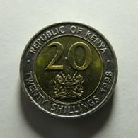 Kenya 20 Shillings 1998 - Kenia
