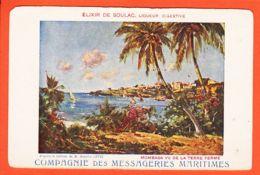 Af138 MOMBASA Vu De La Terre Ferme Cppub Elixir De SOULAC Compagnie De Messagerie Maritimes Tableau Maurice LEVIS1910s - Kenya