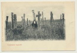 AK  Cementerio Mapuche Graveyard - Chile