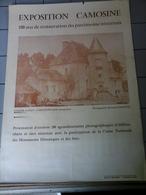 Affiches  - Manoir D'Anizy à Limanton - Exposition Camosine. - Affiches
