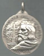 Garibaldi, Bezzecca 1866-1966 Centenario Della Battaglia, De L'Argonne 1915-1965, Mist. Argentata, Gr. 10, Cm. 3. - Francia