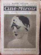 Revue Ciné Miroir N°89 (1er Janv 1926) Betty Blythe - Madame Sans Gêne - Knock - Livres, BD, Revues