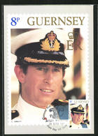 Maximum-Pc Guernsey, Royal Wedding 1981, Prinz Charles - Familles Royales