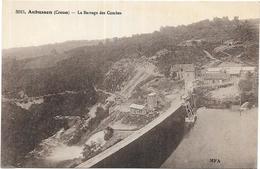 AUBUSSON: LE BARRAGE DES COMBES - Aubusson