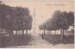 78- VÉLIZY - PLACE DE L'ÉGLISE - CPA PRECURSEUR DOS SIMPLE - Velizy