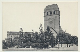 AK   Stettin Szczecin Garnisonskirche - Polen