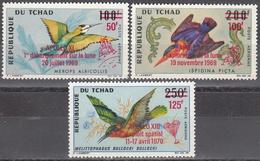 CHAD   SCOTT NO .C67-69    MNH    YEAR  1970 - Chad (1960-...)