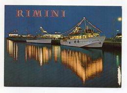 Rimini - Navi In Porto - Notturno - Non Viaggiata - (FDC15481) - Rimini