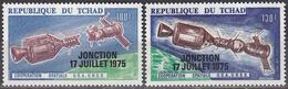 CHAD   SCOTT NO .C171-72     MNH   YEAR  1975 - Tschad (1960-...)