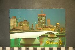 CP, AUSTRALIA, BRISBANE , Q. - SUNSHINE STATE CAPITAL - Brisbane