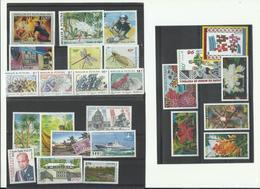 Wallis & Futuna, Lot Neufs** MNH Cote YT 69€90, Voir Scanns, Années 1998/2000 - Unused Stamps