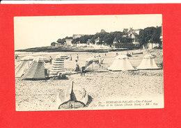 14 BUREAU SAINT PALAIS Cpa Animée Plage Et Calets Pointe Nord    60 BR 839 - France