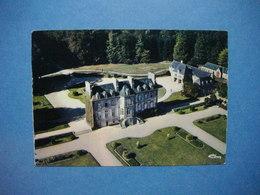 TREBEDAN  -  22  -  Le Château De Challonge  -  Vue Aérienne    -  Côtes D'Armor - Autres Communes