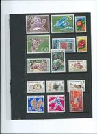 POLYNESIE FRANCAISE. Petit Lot De Timbres Neufs** 2 Pages. - Collections (sans Albums)