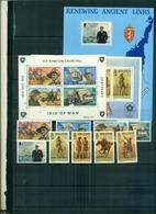 ILE DE MAN 100 W.CHURCHILL-200 USA-NORWEX 80 9 VAL + 3 BF NEUFS A PARTIR DE 1 EURO - Isle Of Man