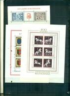 AUTRICHE ECOLE D'EQUITATION-200 THEATRE-2000 AUTRICHE 3 BF NEUFS A PARTIR DE 1 EURO - Blocchi & Fogli