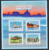 France 5307/5310 2019 Helsinki Capitales Européennes  Neuf TB ** MNH Sin Charnela Prix De La Poste 5.2 - Francia