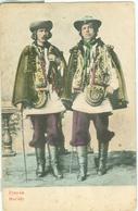 Hucuły; Trachten / Costumes - Written. - Ukraine