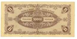 UNGHERIA - 10000 TIZEZER - QUALITA'  Q/FDS - ANNO 1946 - Ungheria