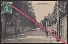76 SAINTE-ADRESSE -- Un Coin De La Rue Du Havre En 1911 _ Passage Du Tramway N° 23 _ Entrée De Villa - Sainte Adresse