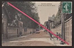76 SAINTE-ADRESSE -- Un Coin De La Rue Du Havre _ Passage Du Tramway N° 23 _ Entrée De Villa _(en Couleur) - Sainte Adresse