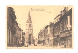 JEMEPPE - SUR - MEUSE  - La Rue J. Wettinck Et L' Eglise  (van 2) - Belgique