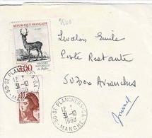 TP N° 2540 Seul  Sur Bande Journal De St Planchers C.A - Postmark Collection (Covers)