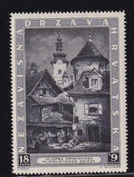 Croatia 1943, Minr 115, MNH. Cv 6,50 Euro - Croazia