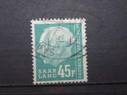 VEND BEAU TIMBRE DE SARRE N° 403 !!! - 1957-59 Federazione