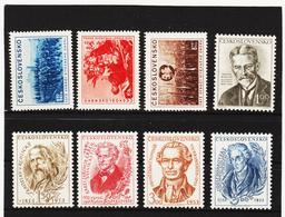 POL1754 TSCHECHOSLOWAKEI CSSR 1953 MICHL 780/87 ** Postfrisch SIEHE ABBILDUNG - Tschechoslowakei/CSSR
